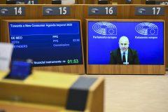 EP Plenary session  - Towards a New Consumer Agenda beyond 2020